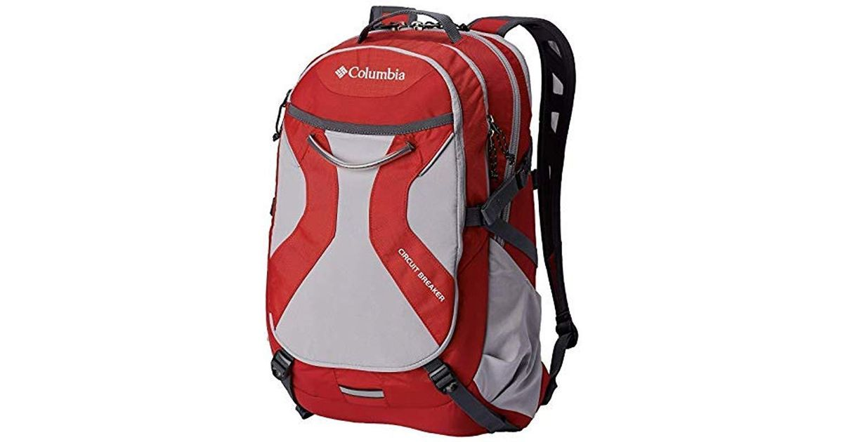 c761ab9ce078 Columbia - Red Circuit Breaker Daypack Laptop Sleeve Backpack 20â€x13â€x9  for Men - Lyst