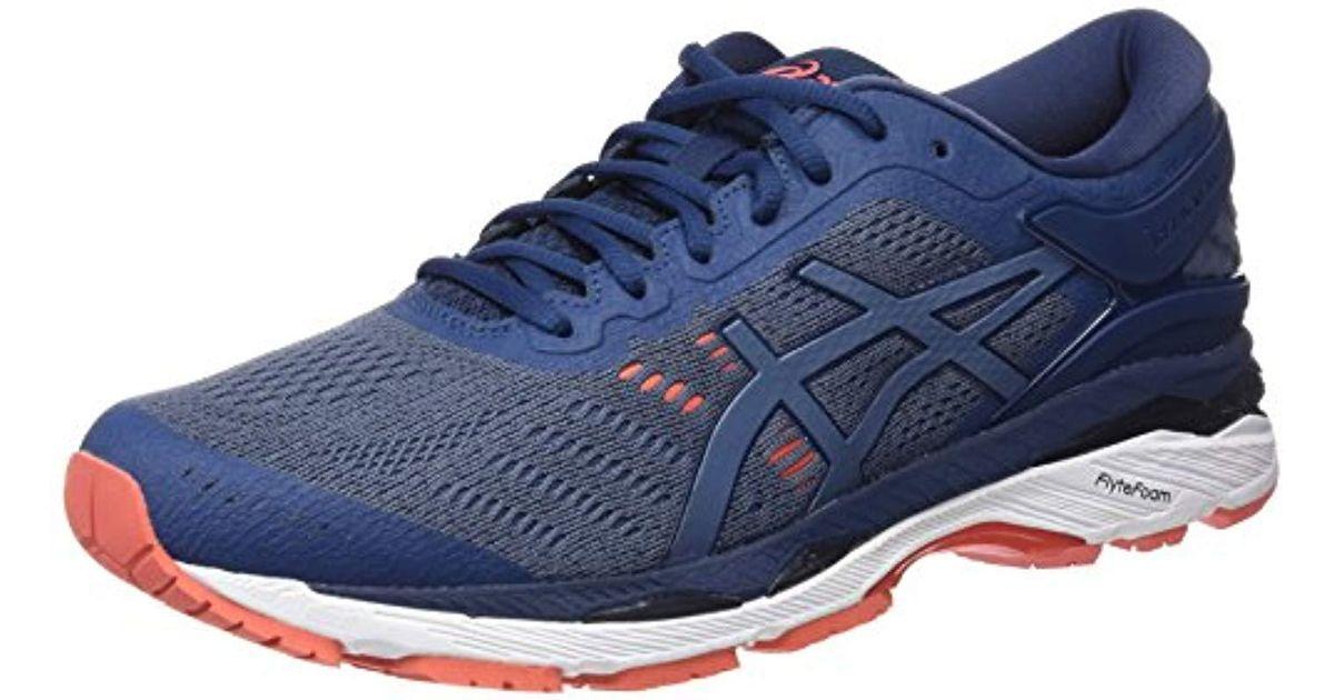 8d161d9561ce Asics Gel-kayano 24 Running Shoe in Blue for Men - Lyst