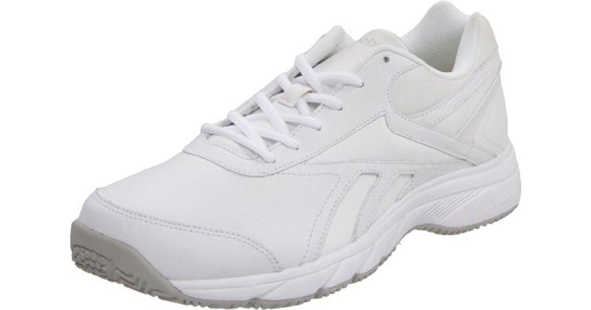 Lyst - Reebok Reeshift Dmx Ride Wide D Walking Shoe in White 0809a936f