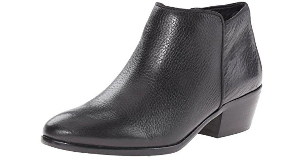 c60b7350bd2b2b Lyst - Sam Edelman Petty Ankle Boot in Black - Save 60%