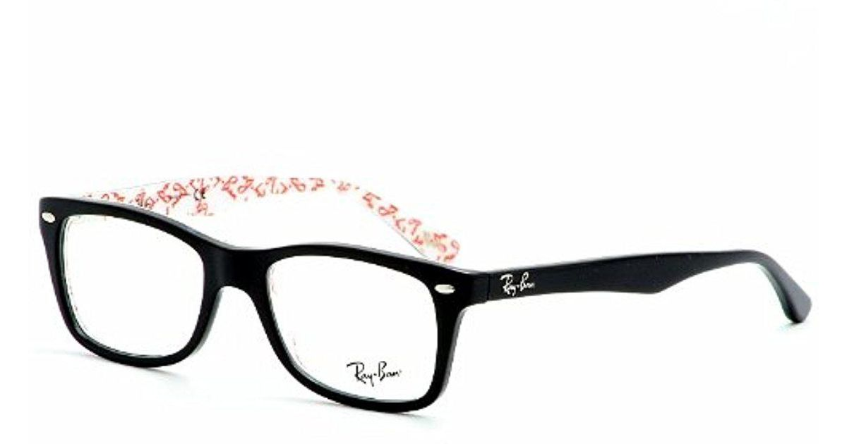 47de8495df Lyst - Ray-Ban Rx5228 Eyeglasses in Black