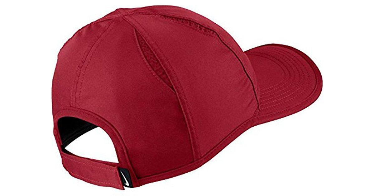 e0fb1a37fa3 Lyst - Nike Unisex Aerobill Featherlight Cap in Red for Men