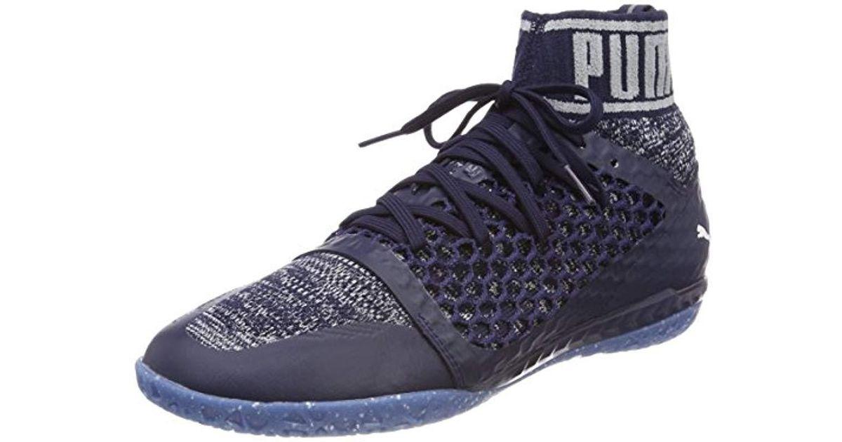 a6a9e5e7779 PUMA 365 Evoknit Netfit Ct American Football Boots in Blue for Men - Lyst