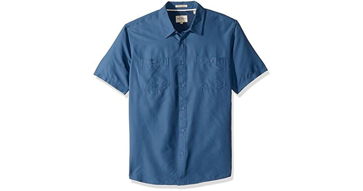 ab237aaafd6 Lyst - Quiksilver Wake Solid Upf 50+ Sun Protection Shirt in Blue for Men