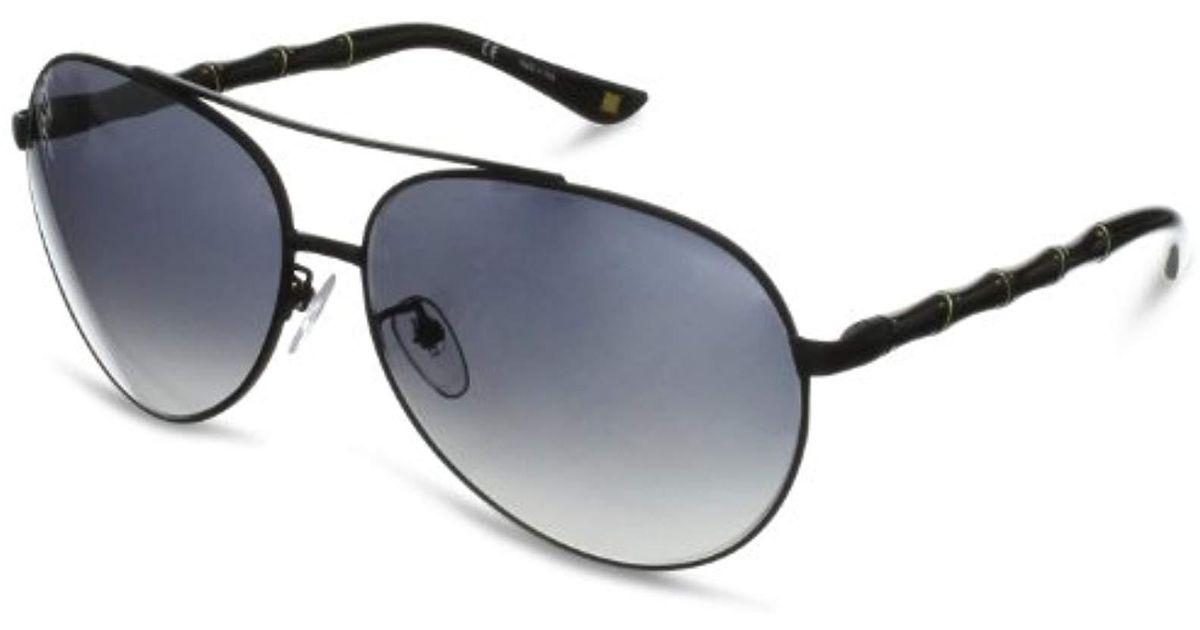 2c8d1c0e60 Lyst - ESCADA Sunglasses Ses775-531x Aviator Non-polarized Sunglasses in  Black