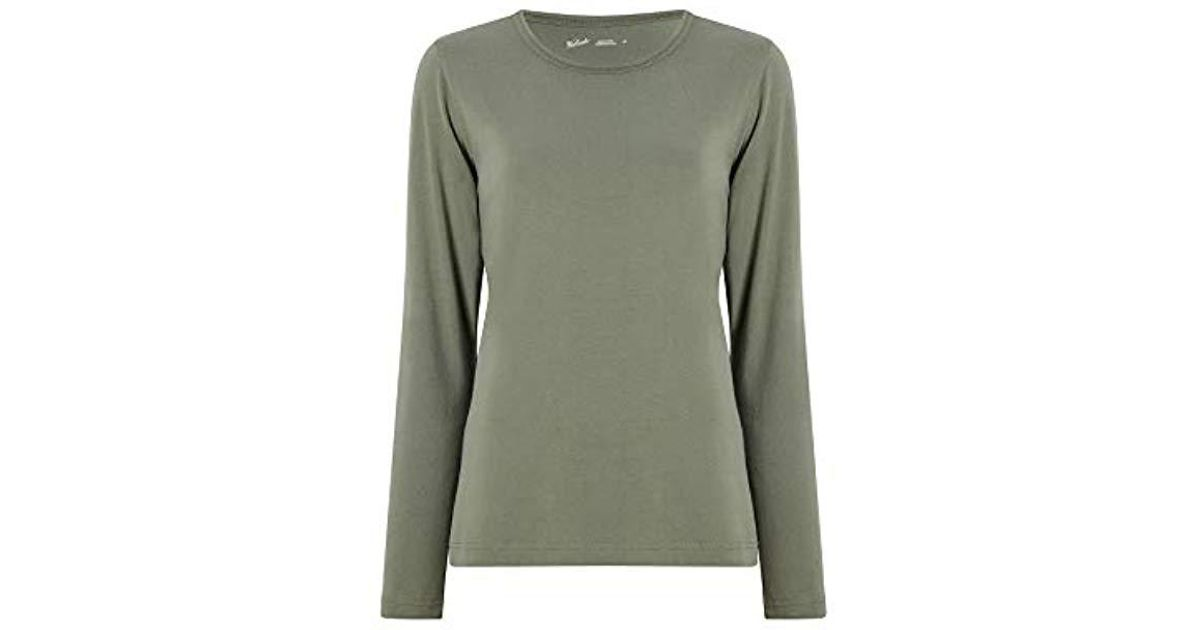 4896abb0e9c Lyst - Woolrich Laureldale Long Sleeve Tee in Green - Save 50.0%