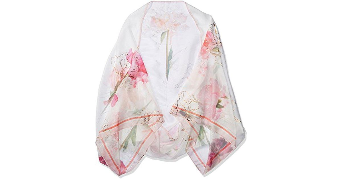 eb92c30dcdf1 Ted Baker - Pink London Sketchbook Cape Scarf - Lyst
