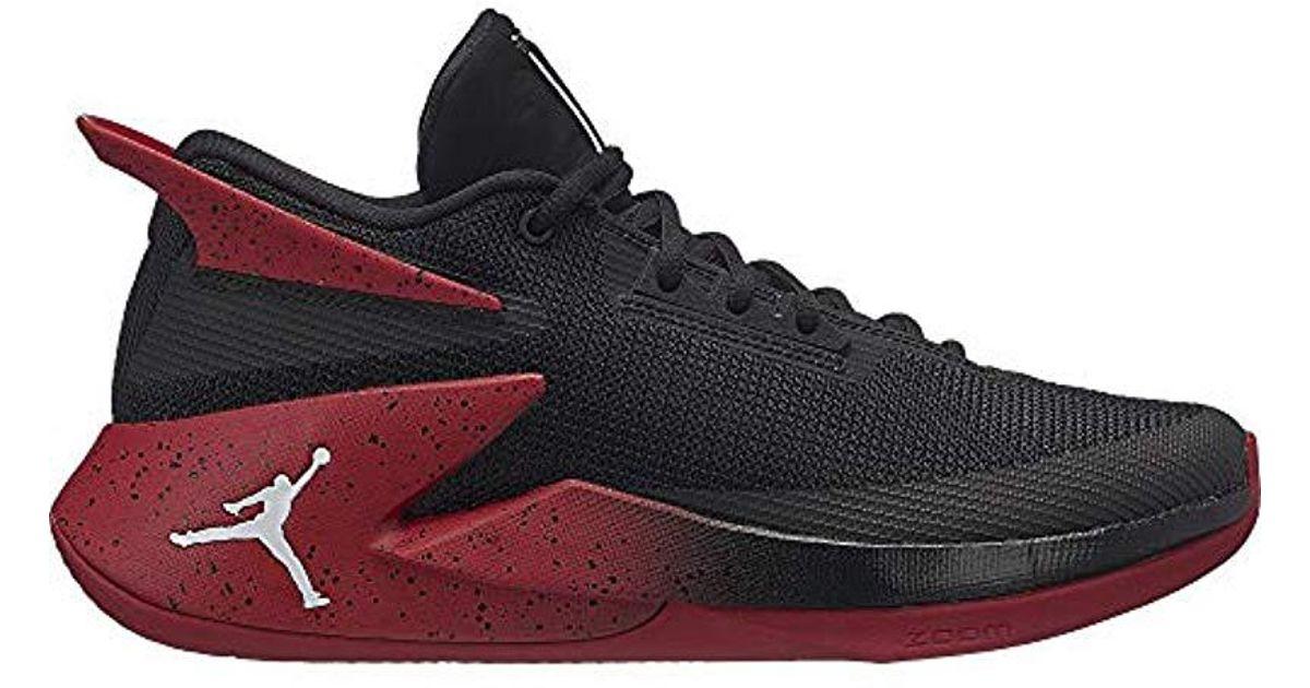 26eb2399477 Nike Jordan Fly Lockdown Basketball Shoes in Black for Men - Lyst