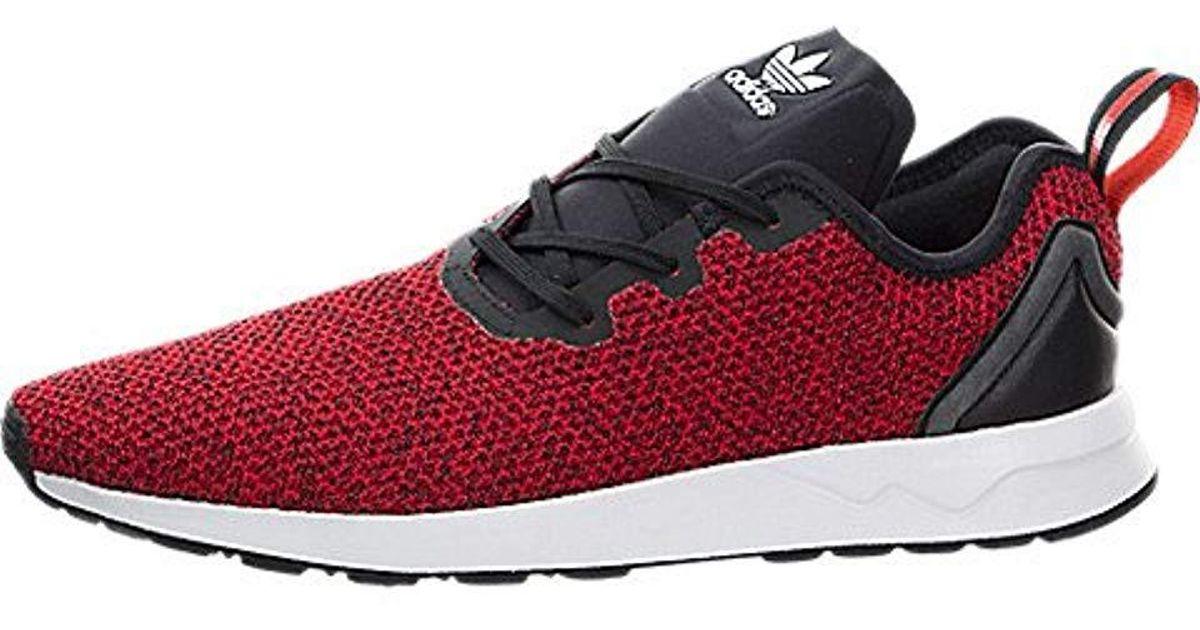 promo code b29a6 9eb60 Adidas - Red Zx Flux Adv Asymmetrical for Men - Lyst