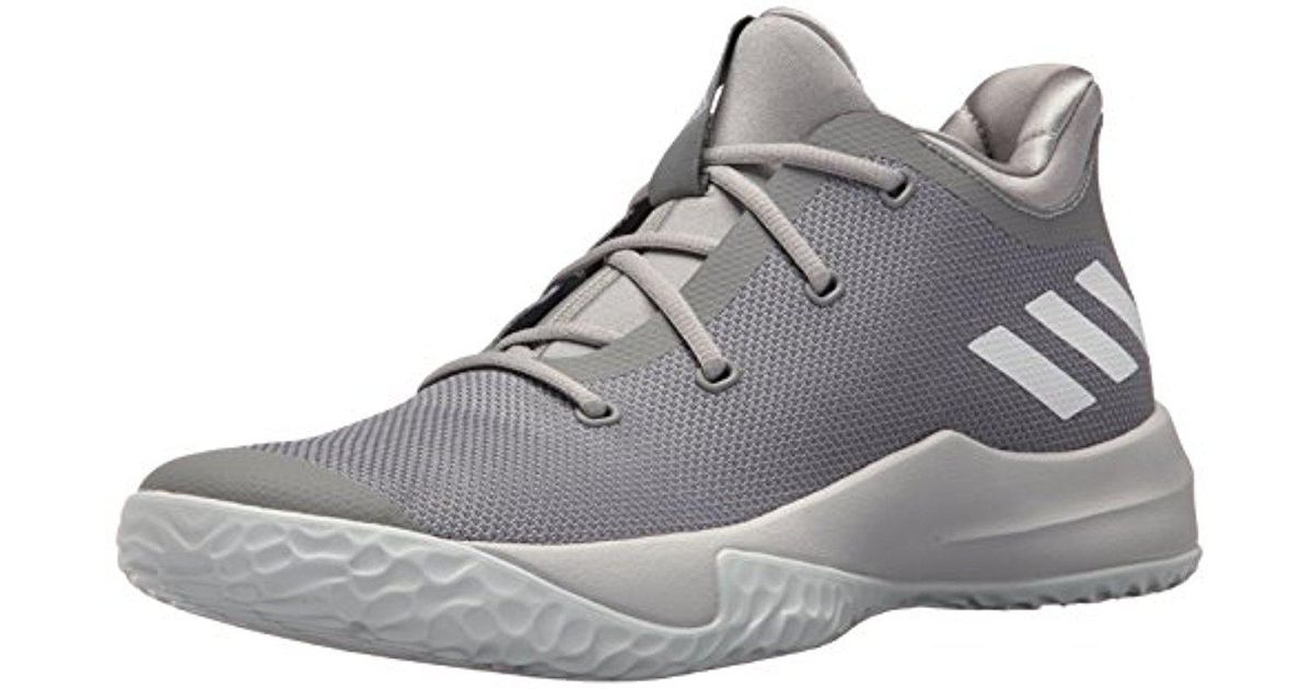 Lyst - adidas Rise Up 2 Basketball Shoe in Gray for Men 400970ef5