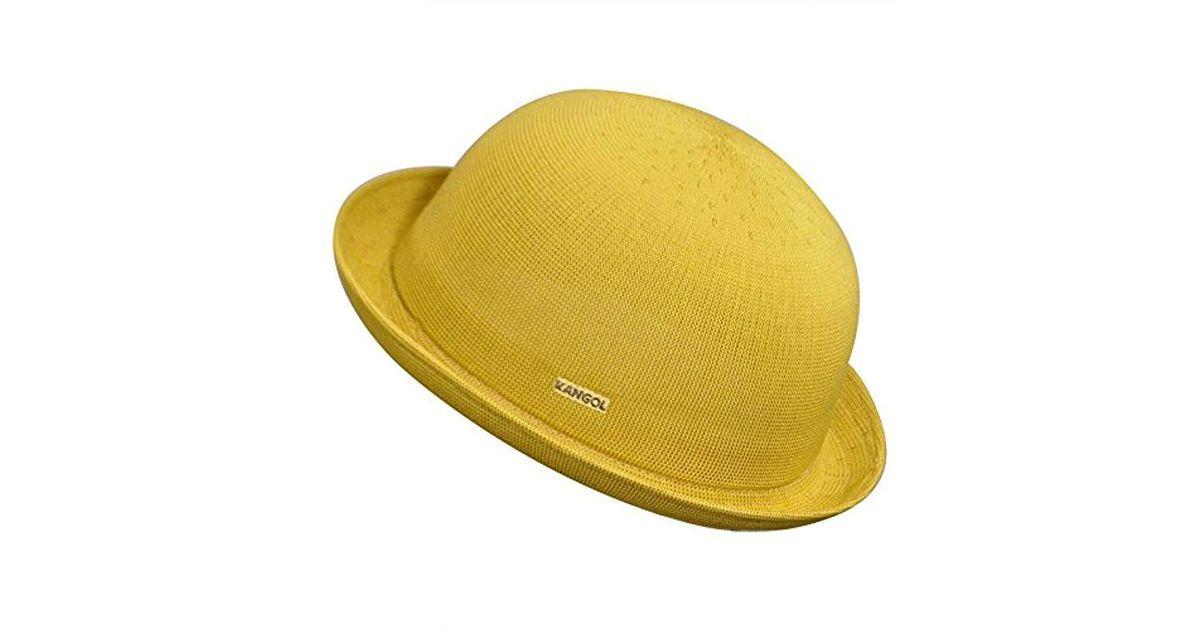 Venta caliente genuino características sobresalientes Tienda online Kangol Yellow Tropic Bombin for men