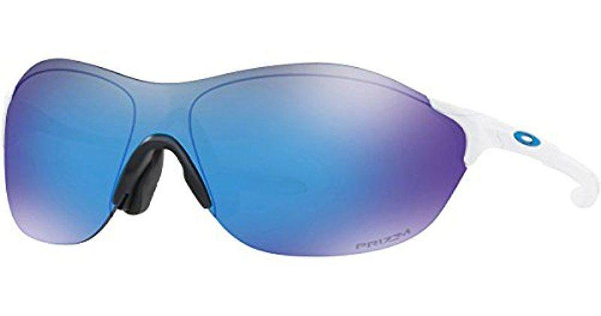 Lyst - Oakley Evzero Swift (asia Fit) Sunglasses in Blue for Men