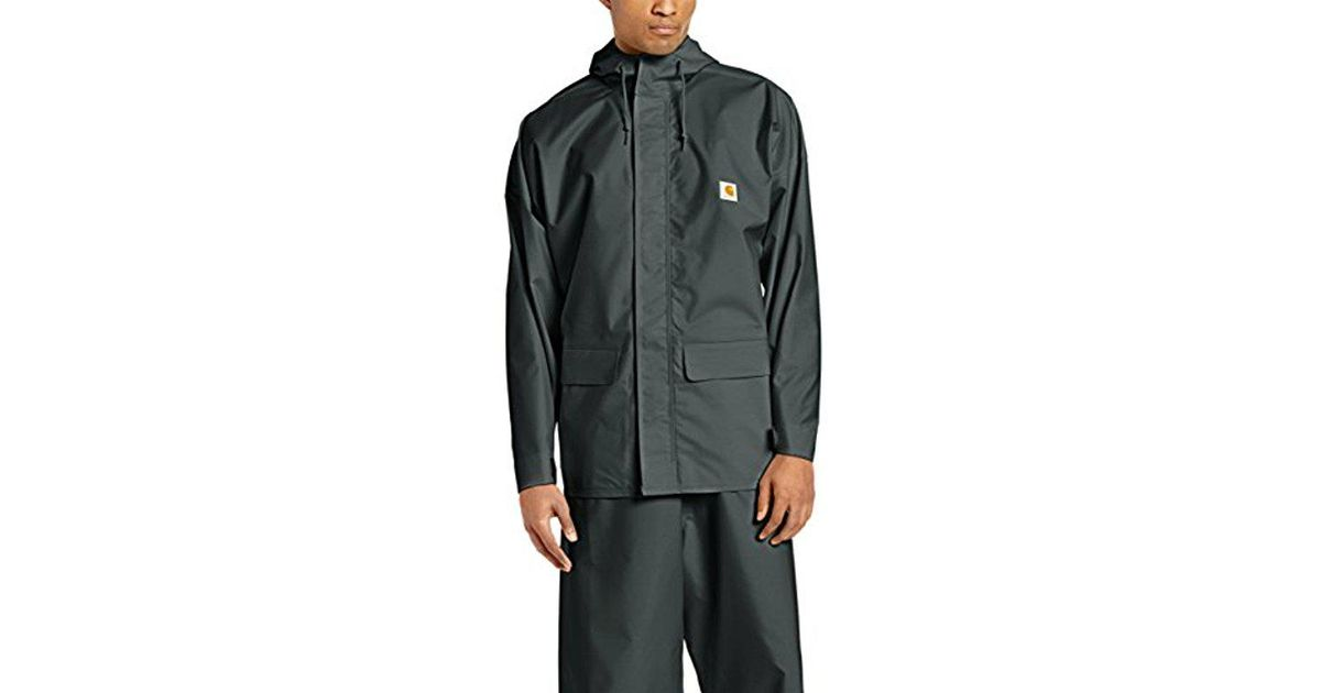 8ff1f2ced Carhartt Green Mayne Lightweight Pvc Coat for men