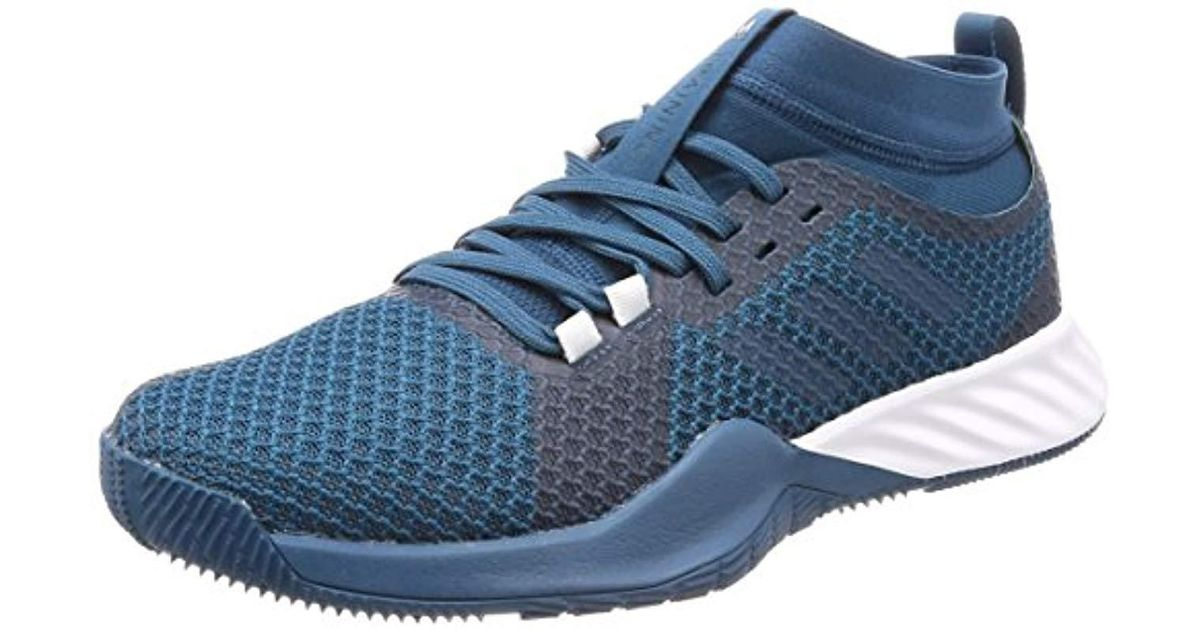 adidas Crazytrain Pro 3.0 Fitness Shoes in Blue for Men - Lyst 14554d86f