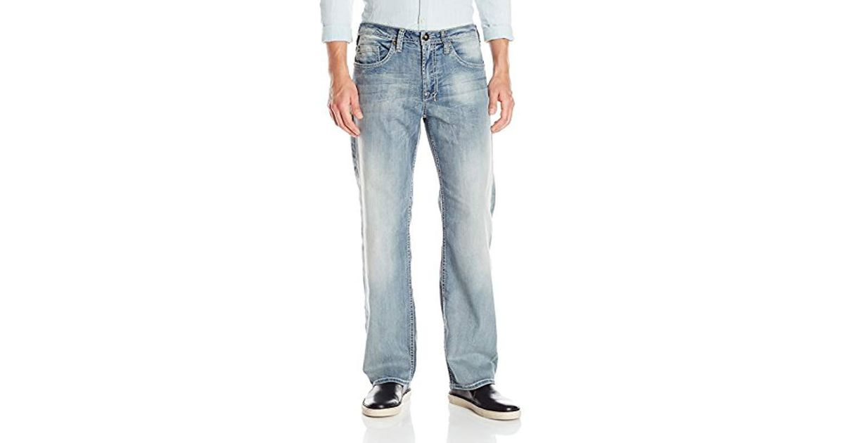 35529af9a8c Buffalo David Bitton Travis Relaxed-fit Jean In Sanded And Rusty in Blue  for Men - Lyst