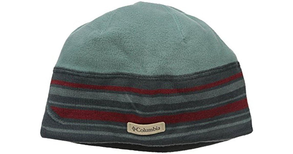626f4bd72f3f35 Lyst - Columbia Alpine Pass Beanie in Green for Men