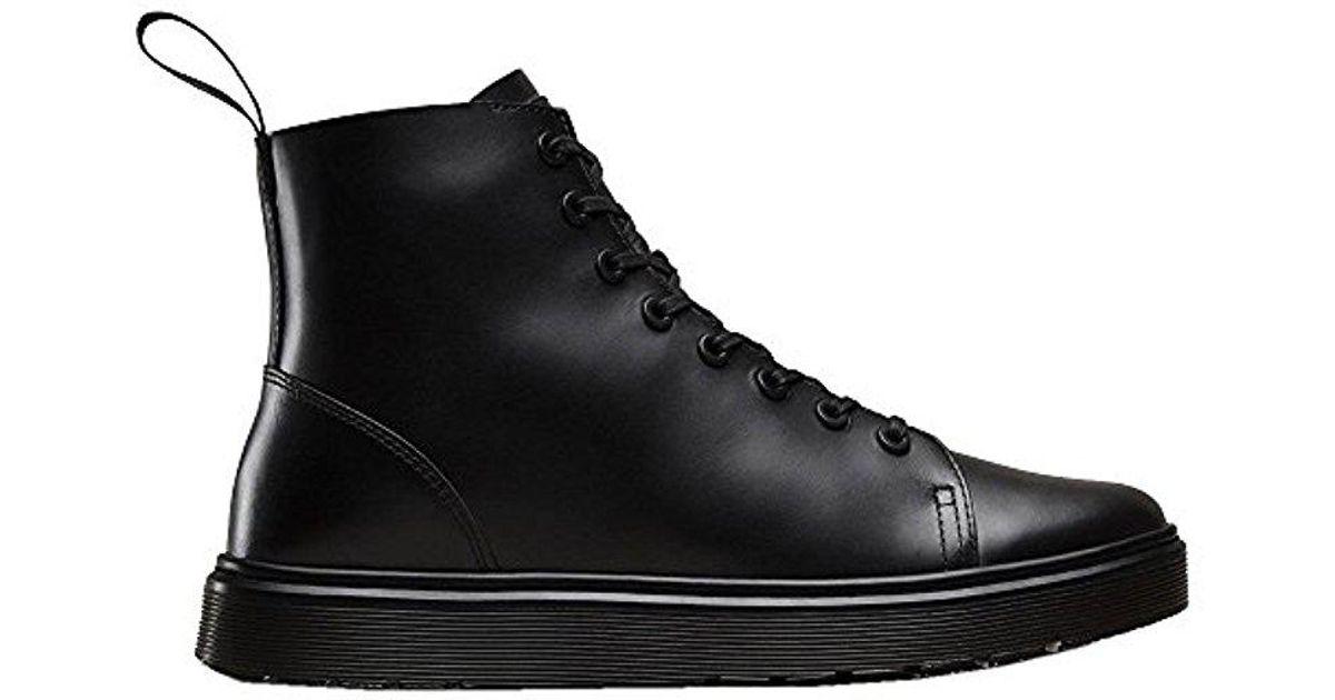 innowacyjny design topowe marki wyprzedaż w sprzedaży Dr. Martens Black Talib Brando Chukka Boot for men