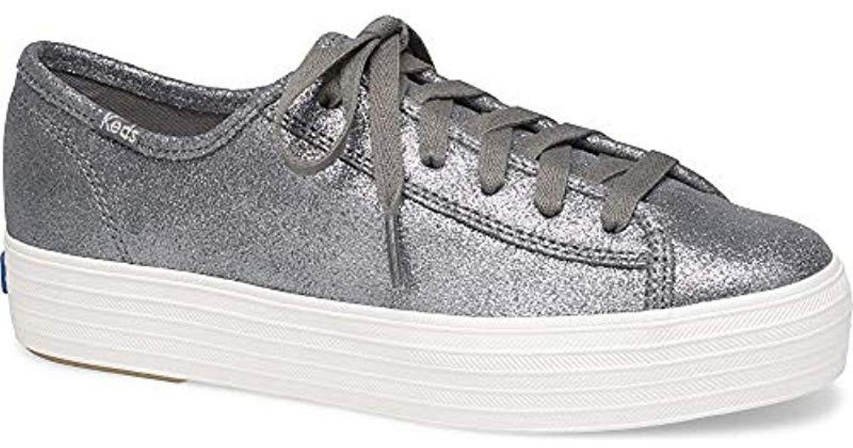 a48e61501ef Lyst - Keds Kickstart Cny Leather in Gray - Save 10.204081632653057%