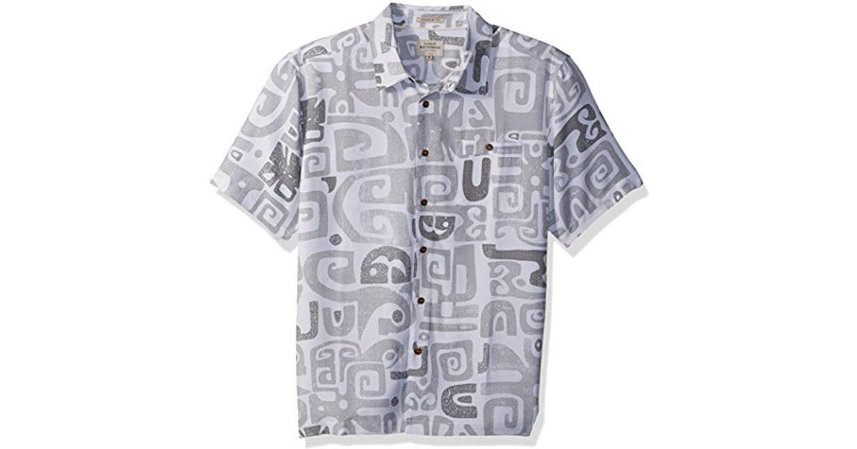 e408613ca Quiksilver Olowalu Comfort Fit Hawaiian Shirt for Men - Lyst
