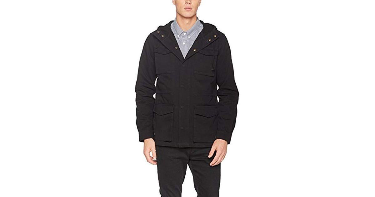 69e8f03517e Vans Gaskin Jacket in Black for Men - Save 72% - Lyst