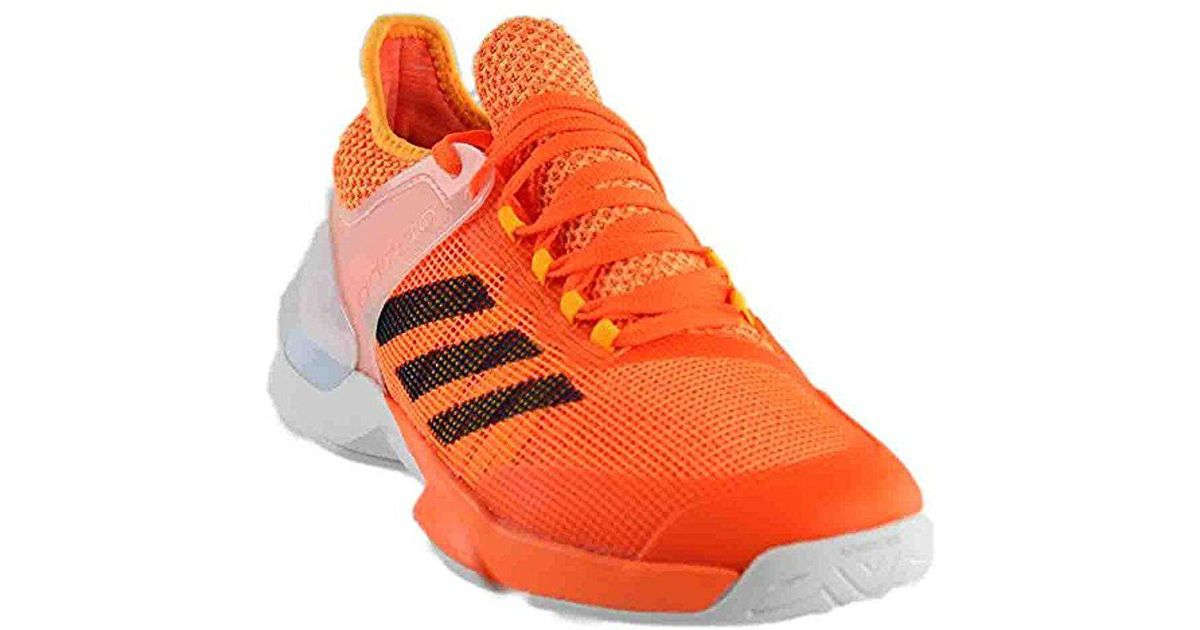 huge selection of 11920 9b059 Lyst - adidas Adizero Ubersonic 2 Tennis Shoe in Orange for