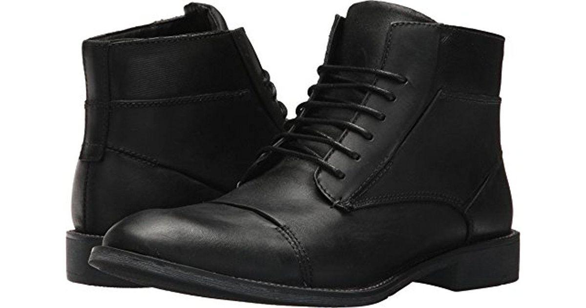 87b6dc74825 Steve Madden - Black Quibb Chukka Boot for Men - Lyst