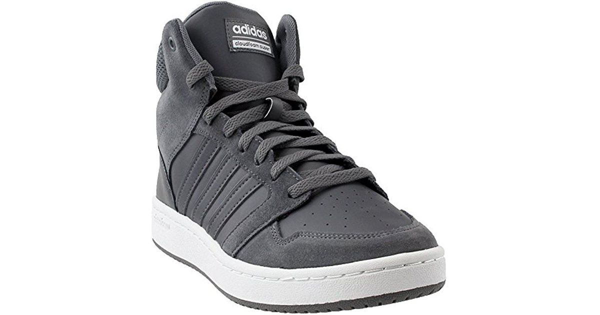 Lyst - adidas Cf Super Hoops Mid Basketball Shoe in Gray for Men 3829f47162