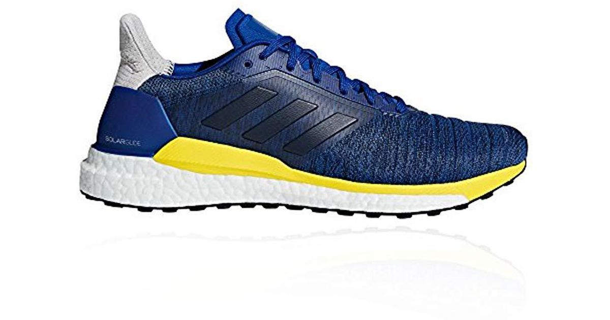 3f9690791278e Adidas - Solar Glide M Trail Running Shoes Blue/white for Men - Lyst