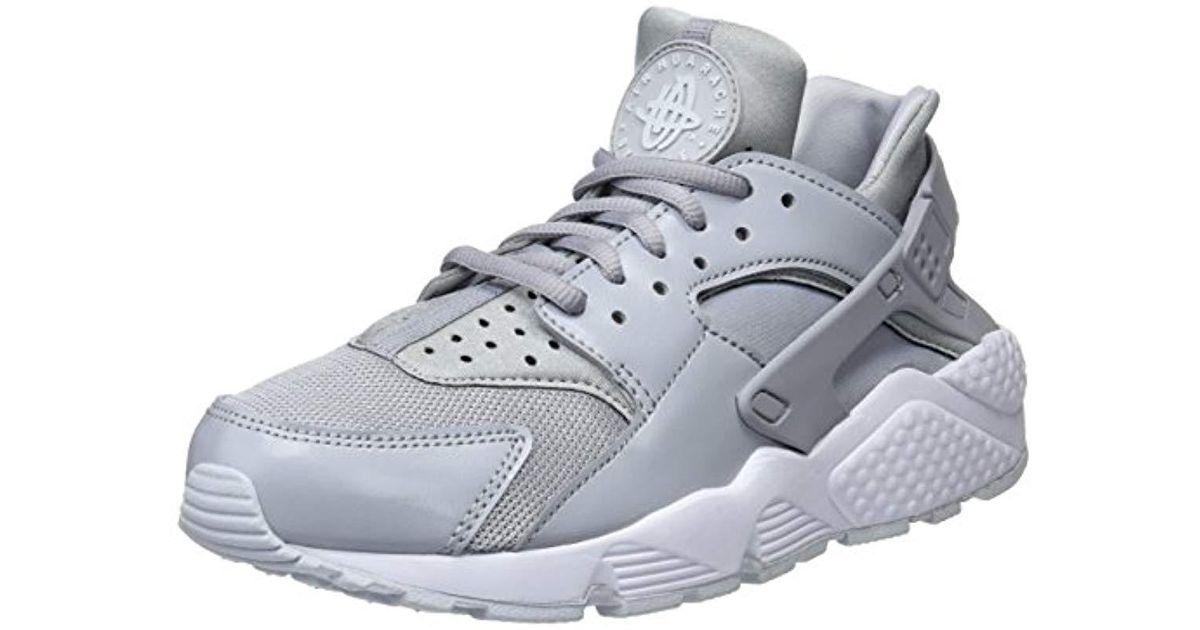 bfa03958f7e5 Nike Air Huarache Run Gymnastics Shoes in Gray - Lyst