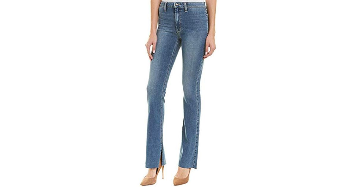 Joes Jeans Womens Microflare High Rise Skinny Flare Jean