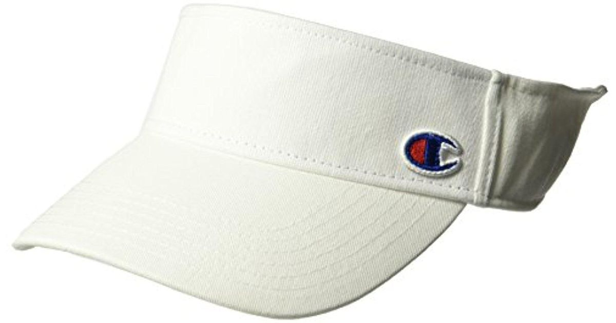 Lyst - Champion Father Visor in White for Men - Save 25% 823d4444f00