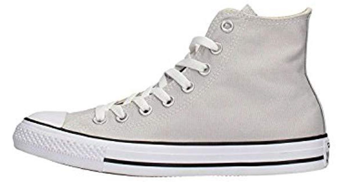 49391f3ac4fe2 Converse - White Unisex Adults' Chuck Taylor All Star Hi-top Sneakers - Lyst