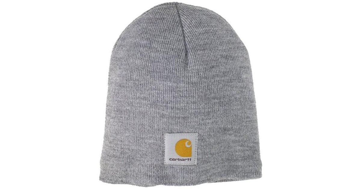 35fc3719a87 Lyst - Carhartt Acrylic Knit Hat A205 in Gray for Men