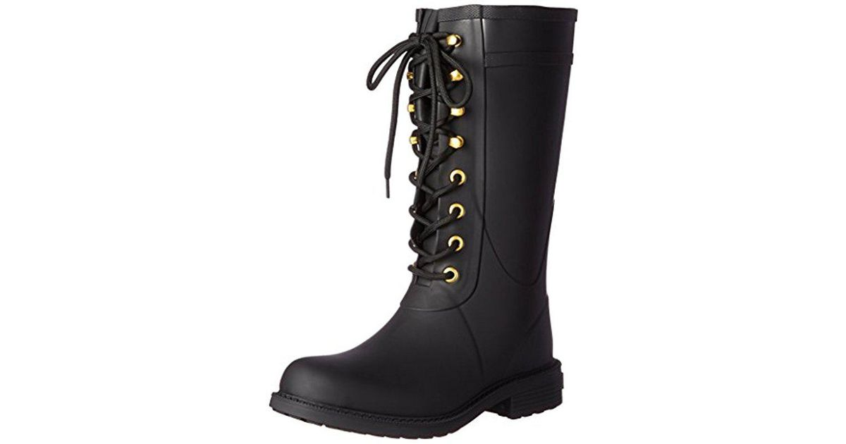 a6cd7f860 Lyst - Sam Edelman Kay Rain Boot in Black