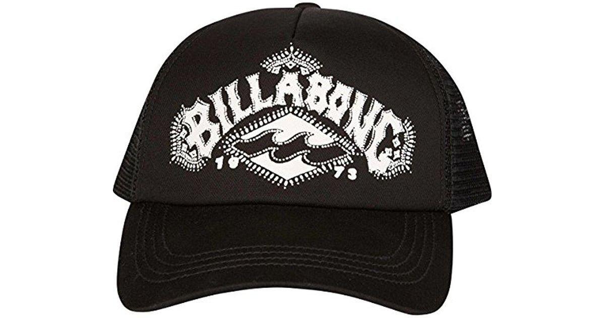 3e0484b091cabb Lyst - Billabong Junior's Aloha Forever Trucker Hat in Black for Men