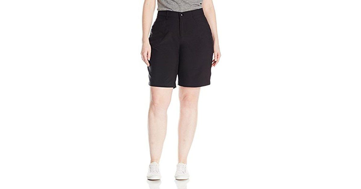 18e25655fa Lee Jeans Plus Size Active Performance Milly Bermuda Short in Black - Lyst