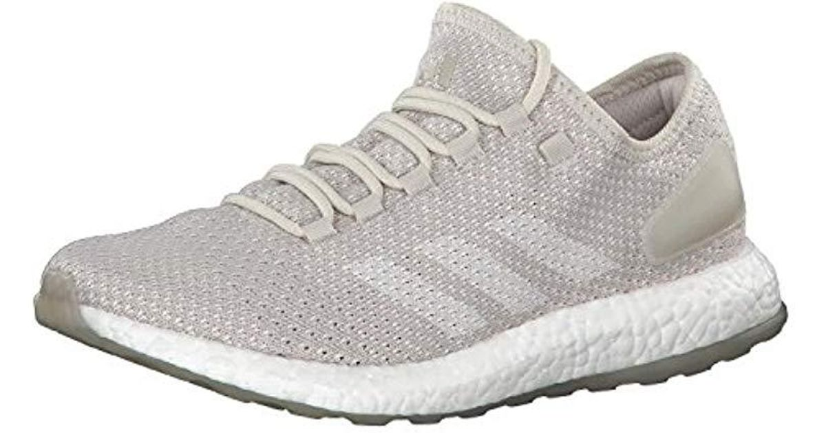 a484a425b adidas Pureboost Clima Competition Running Shoes in Gray for Men - Lyst