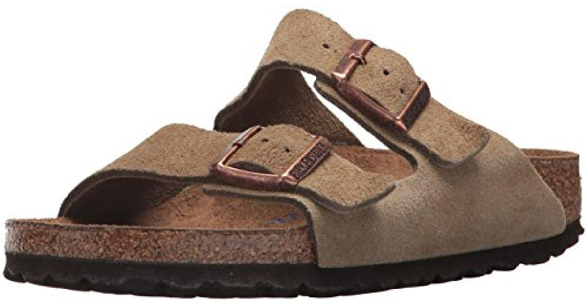 19151d3b8bdb Lyst birkenstock arizona soft footbed jasper suede in brown for men jpeg  1200x630 Jasper suede