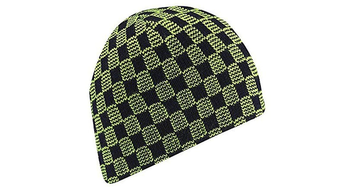 92c7c05e5e8 Lyst - Wigwam Electric Check Hat in Green for Men