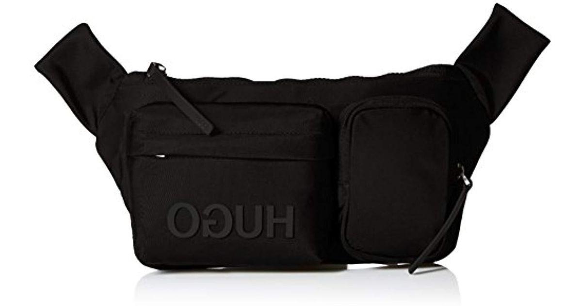 f4e1fb7ca25 BOSS Hugo Fashion Fanny Pack in Black for Men - Lyst