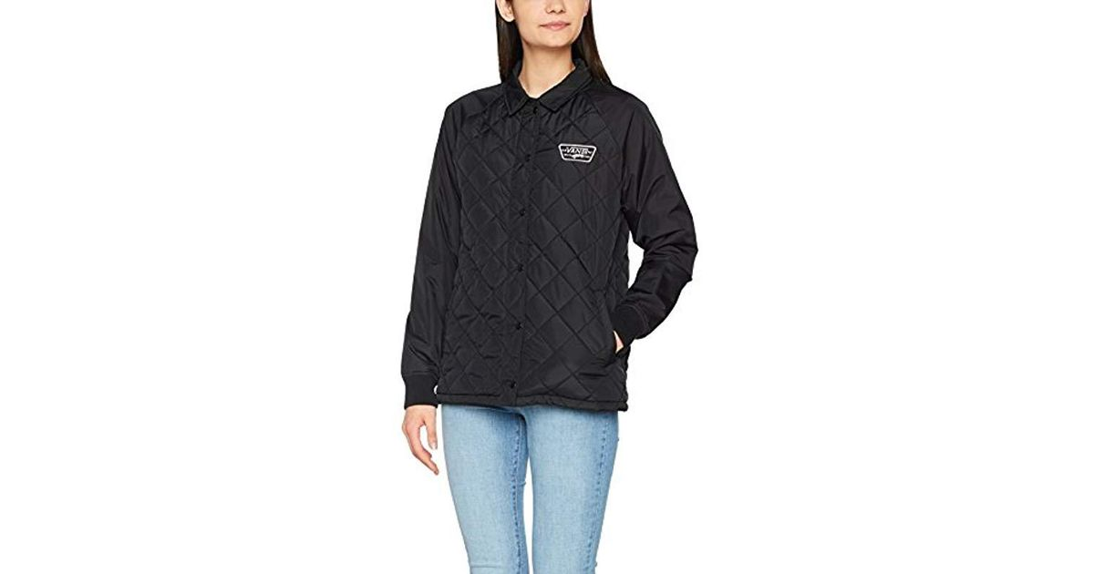 141bd09617 Vans Thanks Coach Quilted Jacket Mte in Black - Lyst