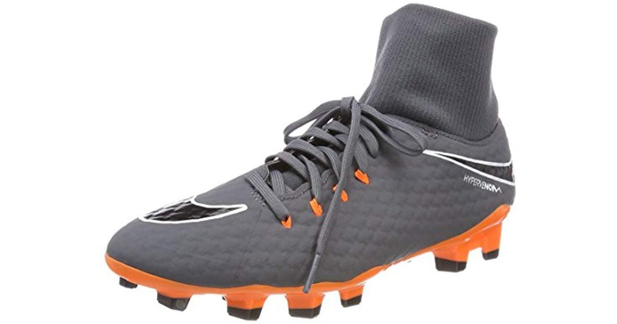 new styles d9737 6ffc4 Nike Hypervenom Phantom Iii Adf Footbal Shoes in Gray for Men - Lyst