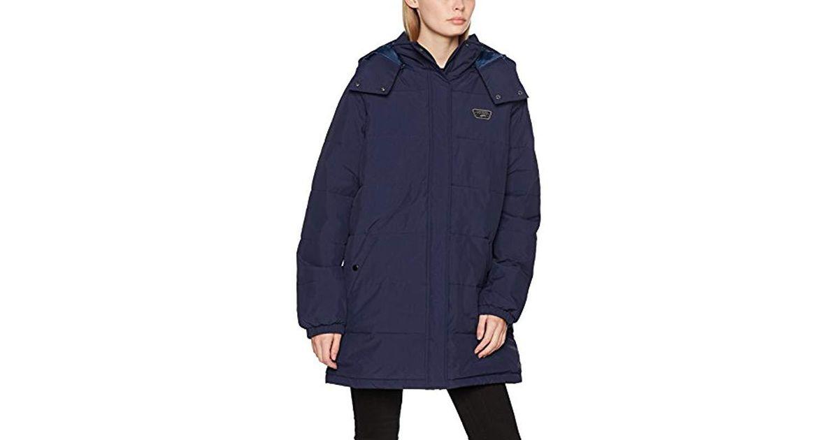 9878004baa Vans - Blue Doppler Puffer Jacket Mte Parka - Lyst