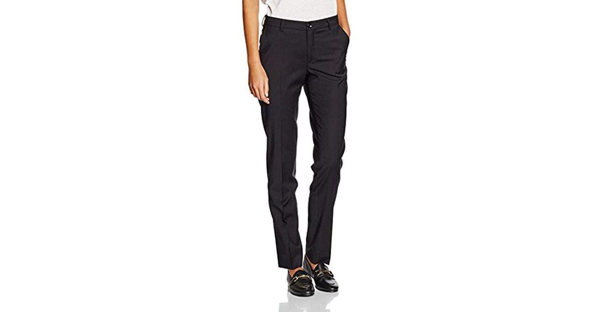 Filippa K Luisa Cool Wool Slacks Trousers in Black - Lyst 91a18be4c77a6