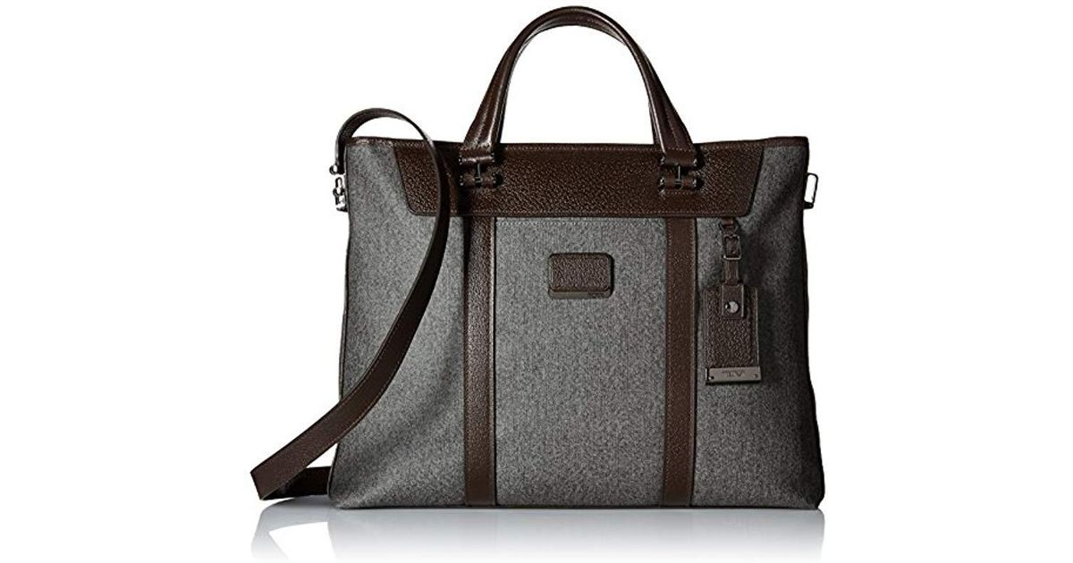 8291a890c1 Lyst - Tumi Astor Avery Brief Tote in Gray for Men