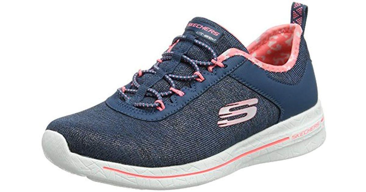Skechers Blue 12659 Burst 2.0 sunny Side Trainers Lyst