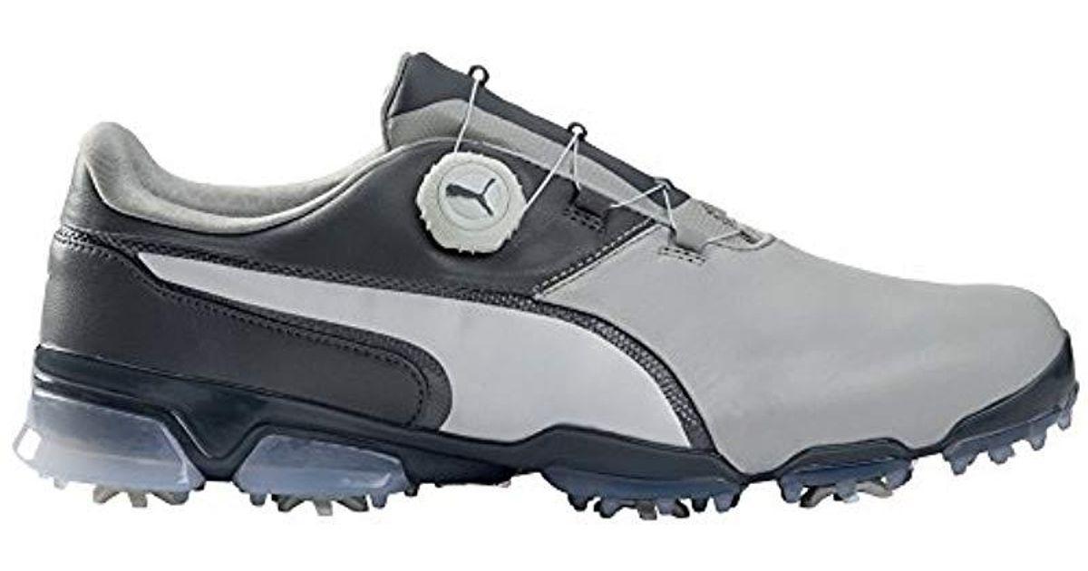 9bdc1506670 Lyst - PUMA Titantour Ignite Disc Golf-shoes in Gray for Men