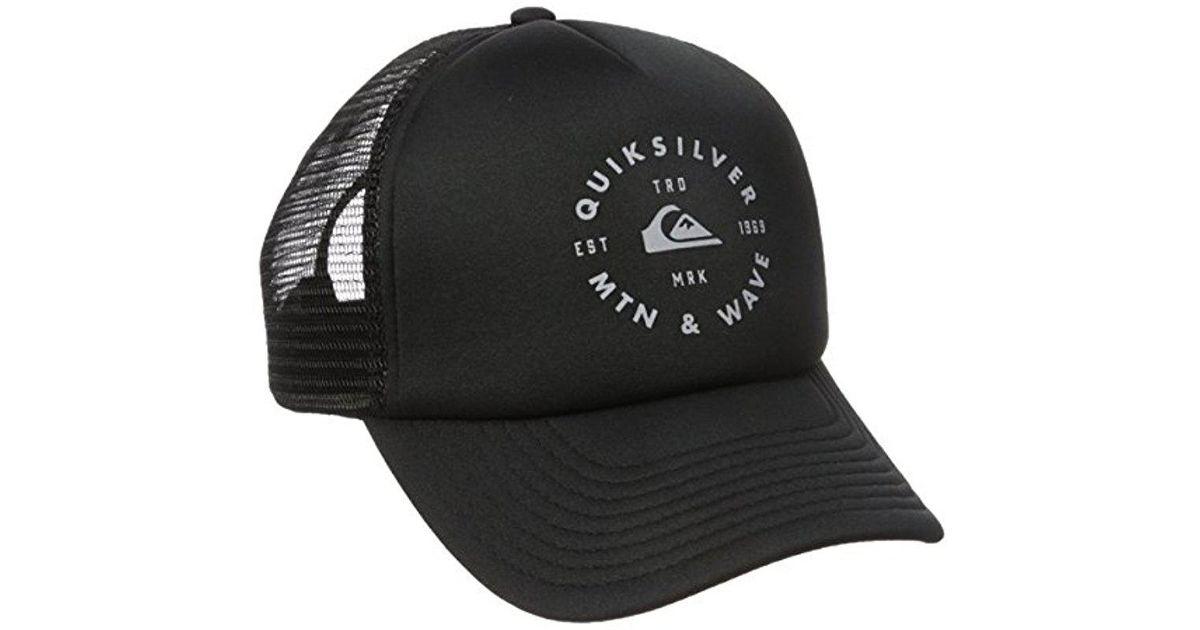 e91760cfe91 Lyst - Quiksilver Foamblast Hat in Black for Men