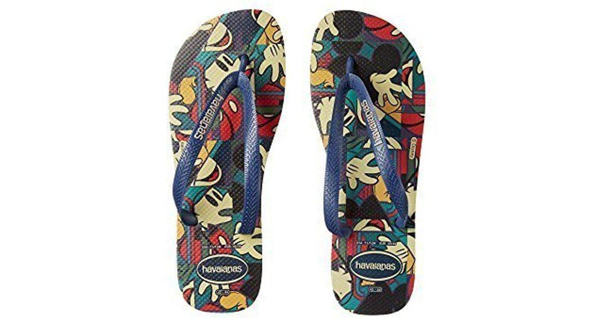 dab089ab8642 Lyst - Havaianas Disney Stylish Sandal Flip Flop in Blue for Men