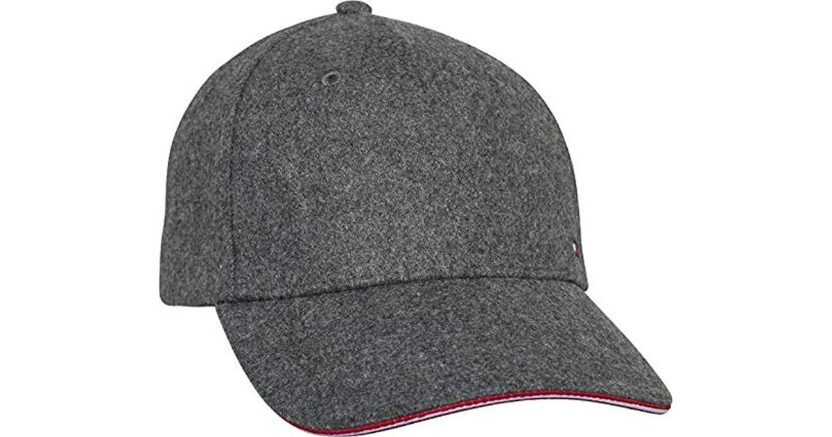 Tommy Hilfiger - Melton Corporate Cap Blue Am0am03996 413 in Gray for Men -  Lyst 5f060a481c0